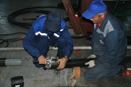 установка трубопроводов газоснабжения